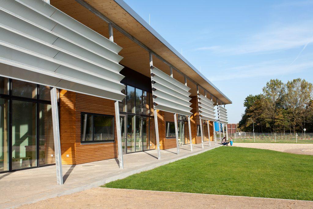 Kindertagesst tte holzrahmenbau in marne holzbauzentrum nord - Steinwender architekten ...