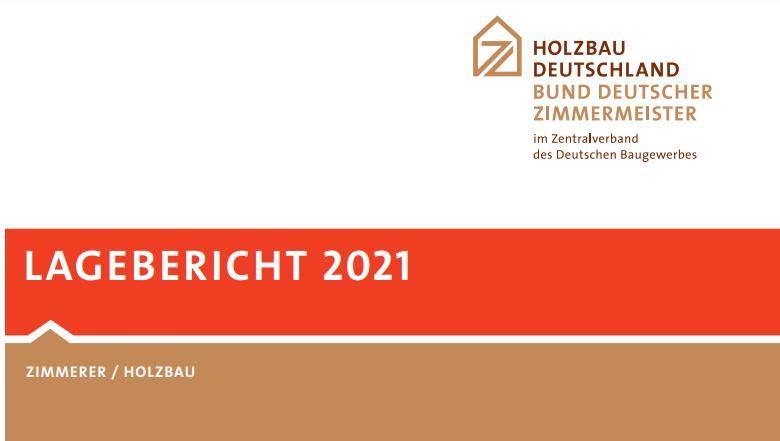 Holzbau Deutschland Lagebericht 2021: Holzbauquote erstmals über 20 Prozent