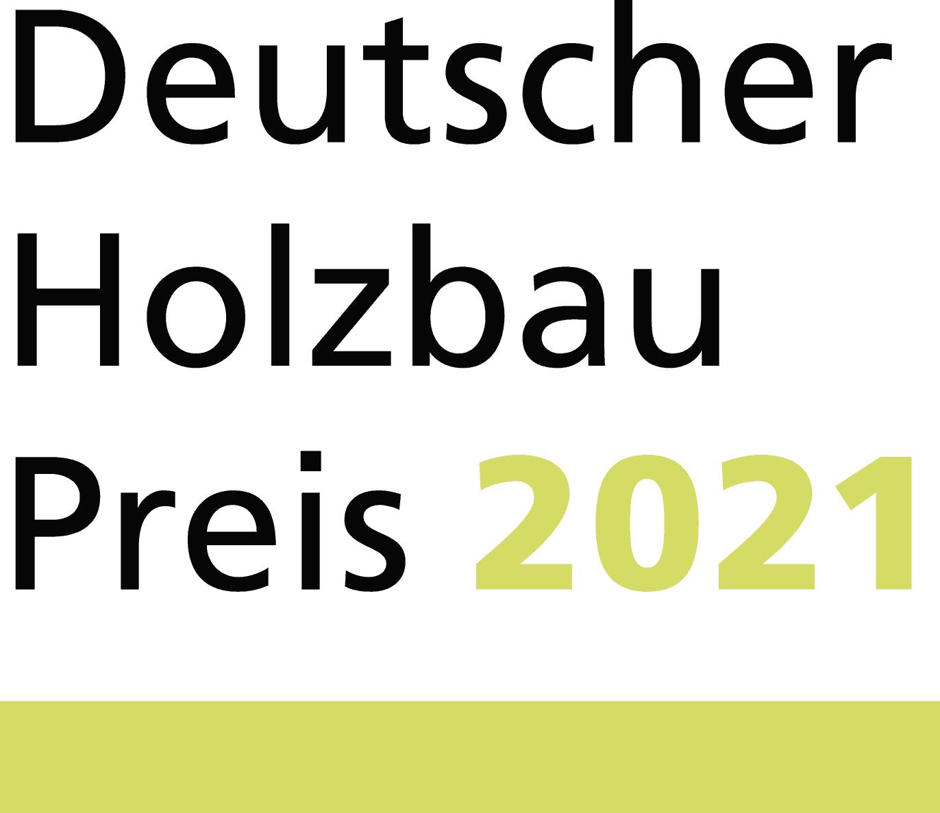 Die Gewinner des Deutschen Holzbaupreises 2021 stehen fest
